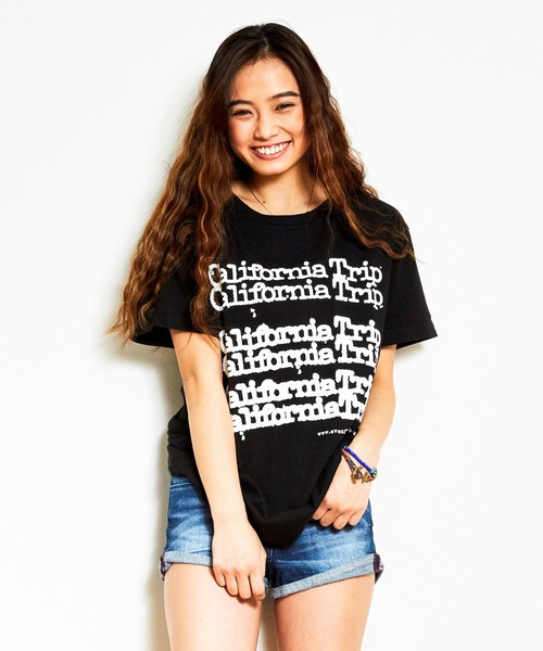 evenflowイーブンフロウ California Trip TEE 半袖プリントTシャツ EF-812