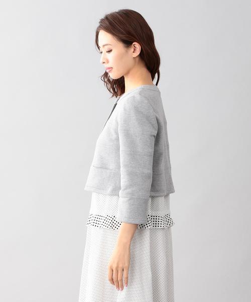【Tricolore】フレンチパイルジャケット