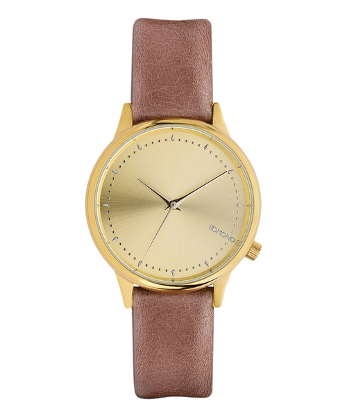 KOMONO.(コモノ)の「「KOMONO コモノ」腕時計エステル ▲(アナログ腕時計)」|ピンク系その他