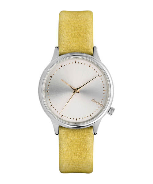 KOMONO.(コモノ)の「「KOMONO コモノ」腕時計エステル ▲(アナログ腕時計)」|イエロー