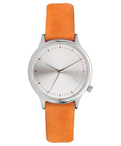 KOMONO.(コモノ)の「「KOMONO コモノ」腕時計エステル ▲(アナログ腕時計)」|オレンジ