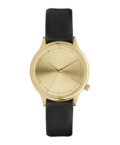 KOMONO.(コモノ)の「「KOMONO コモノ」腕時計エステル ▲(アナログ腕時計)」|ブラック