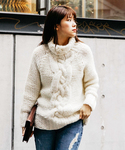 Ameri | ANN'S CABLE TURTLE KNIT(ニット・セーター)