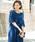 kana(カナ)の「レースフレアスリーブロングドレス / 結婚式ワンピース・お呼ばれパーティードレス(ドレス)」|詳細画像