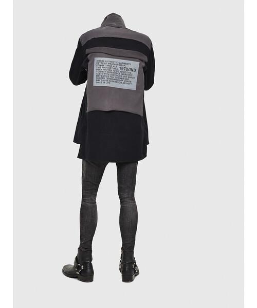 メンズ シャツ フーデッドシャツ