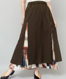 OSMOSIS(オズモーシス)の2WAYレイヤードスカート(スカート)