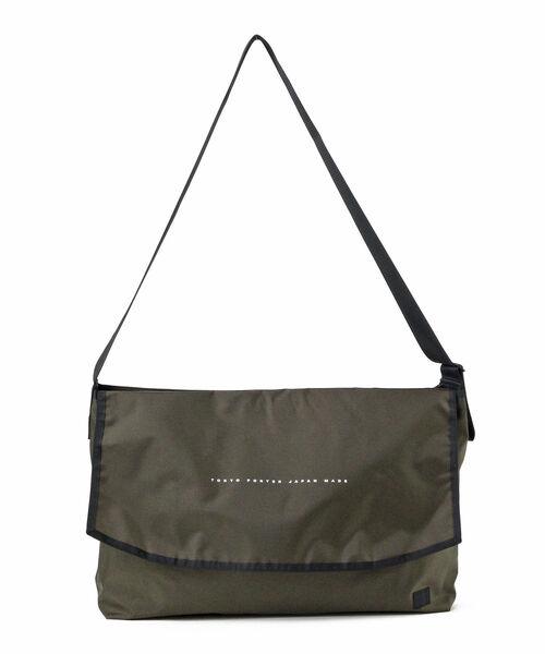 PORTER / PORTER FLAT MESSENGER BAG L
