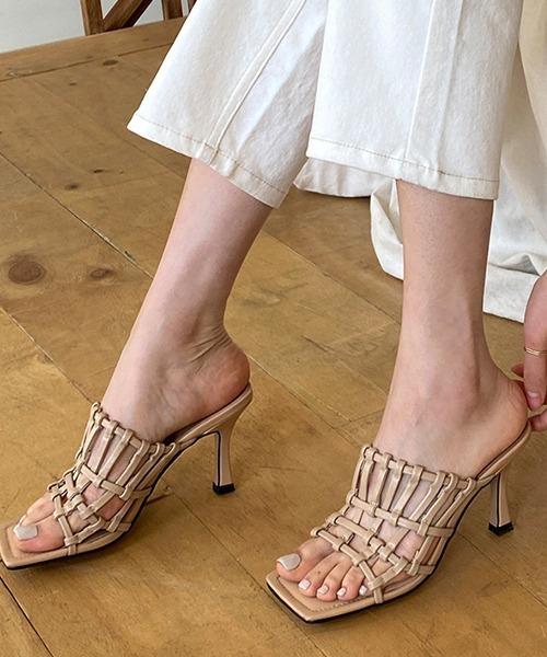 【chuclla】Blade design sandal sb-6 chs58