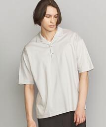 BY ハイゲージ ポンチ オープンカラー ポロシャツ