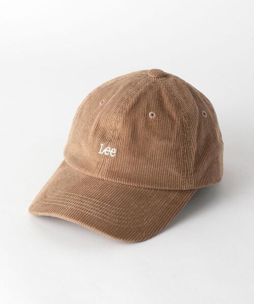 LEE(リー)LOGO コーデュロイ CAP
