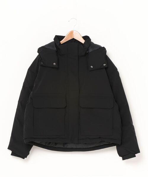 TIGORA(ティゴラ)の「ティゴラ TIGORA SMART 防風ダウンジャケット(ダウンジャケット/コート)」|ブラック