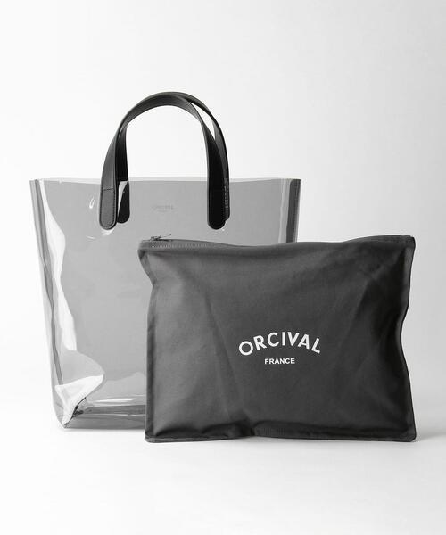 <ORCIVAL>インナーバッグ PVC トートバッグ