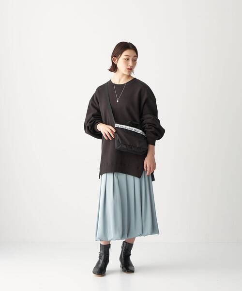 <CITEN(シテン)> サテン バルーン スカート