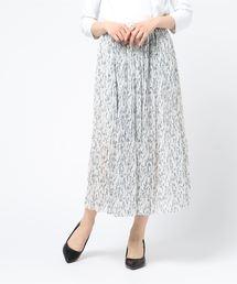 MISCH MASCH(ミッシュマッシュ)の小花柄プリーツスカート(スカート)