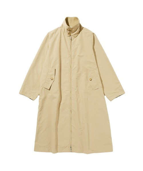 SPRING2020 REVARSIBLE STAND COLLAR LONG COAT