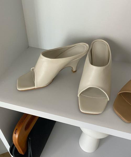 【chuclla】Curve-heel sandal sb-6 chs59