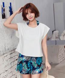 2da401dfaf1 Angel Luna(エンジェル ルナ)の「【12色】レディース 水着 Tシャツ