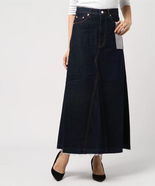 【新品、本物、当店在庫だから安心】 [WHEIR Bobson/ ウェアボブソン] SUPER Bobson FLARE/ SKIRT(デニムスカート)|WHEIR Bobson(ウェアボブソン)のファッション通販, アクアランド まっかちん:ec47a519 --- fahrservice-fischer.de