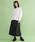 merlot(メルロー)の「フロントボタンタックプリーツスカート2598(スカート)」|詳細画像