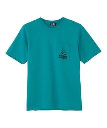 PARANOID LETTER BOX ポケット付きTシャツグリーン