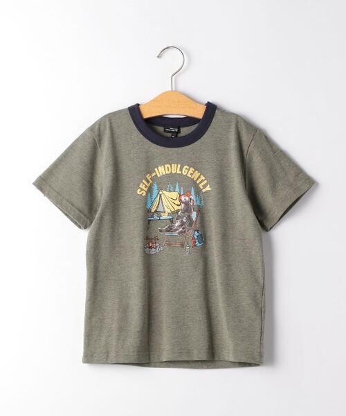 〔吸水速乾〕ベアキャンプ Tシャツ