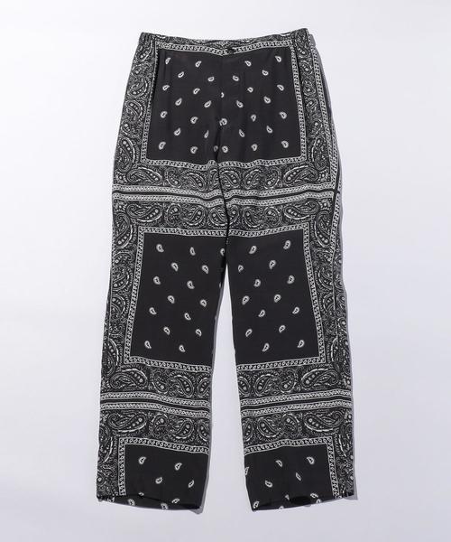 <UNUSED>BANDANA EASY PANTS/パンツ.