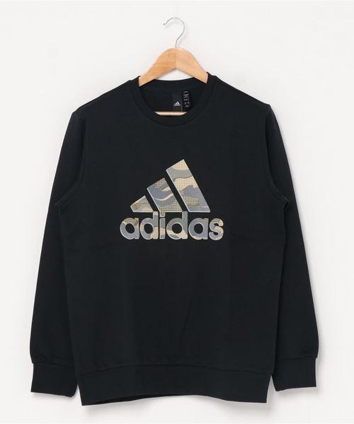 adidas(アディダス)の「アディダス adidas MMHGFXSWTBOS(スウェット)」|ブラック