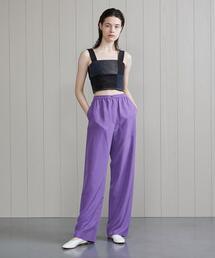 <H>SILK PANTS/パンツ