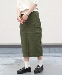 THE SHINZONE / シンゾーン FIELD SKIRT フィールドスカートカーキ