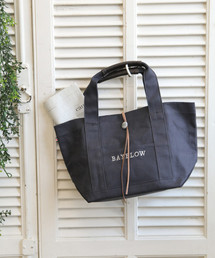 BAYFLOW(ベイフロー)のBAYFLOW/コンチョロゴトート(Mサイズ)(トートバッグ)