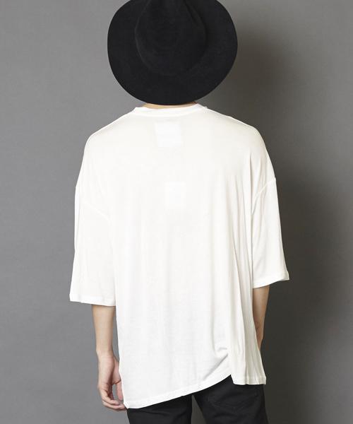 ビッグシルエットドロップショルダーTシャツ ビッグカットソー