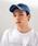 newhattan(ニューハッタン)の「WEGO/【WEB限定】newhattan  ウォッシュドツイル6パネルLOWキャップ(キャップ)」 詳細画像