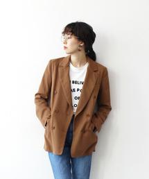 1a51ef2a8ea18 DRESSLAVE(ドレスレイブ)の「lana mist twill double jacket(ダブルテーラードジャケット