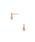 VA VENDOME AOYAMA(ヴイエーヴァンドームアオヤマ)の「VA VENDOME AOYAMA(ヴイエー ヴァンドーム青山) SV925 キュービックジルコニア 3ストーン ピアス(ピアス(両耳用))」|詳細画像