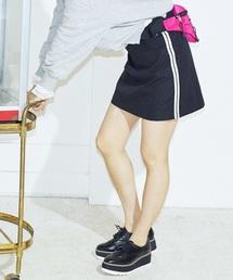 Heather(ヘザー)のサイドラインスカート 821509(スカート)