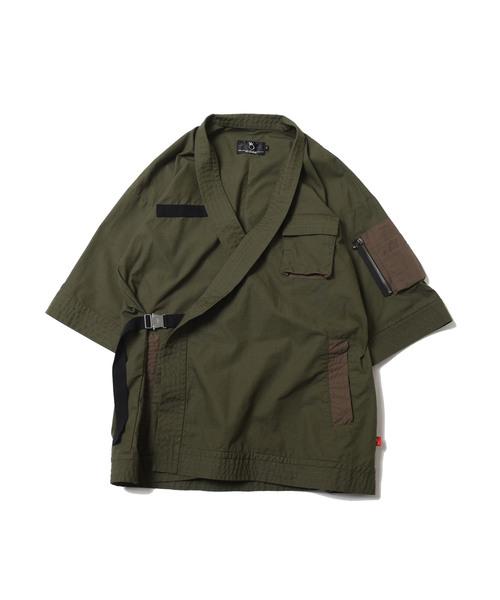 【オンライン限定商品】 DOUGI SHIRTS JKT, アクセソワール d890d55d