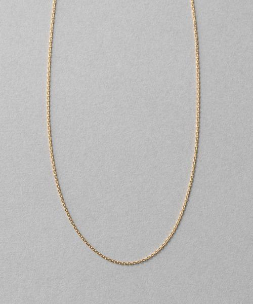 17df0bd0a1 ete bijoux(エテビジュー)のK18YG チェーン ネックレス(ネックレス)