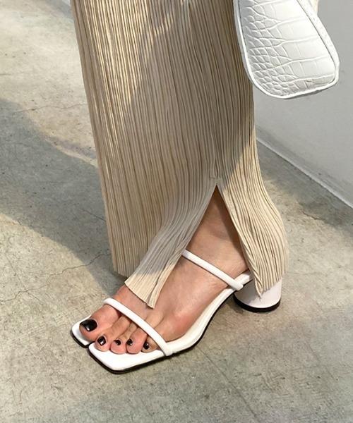 【chuclla】Tabi-taste strap sandal sb-6 chs61