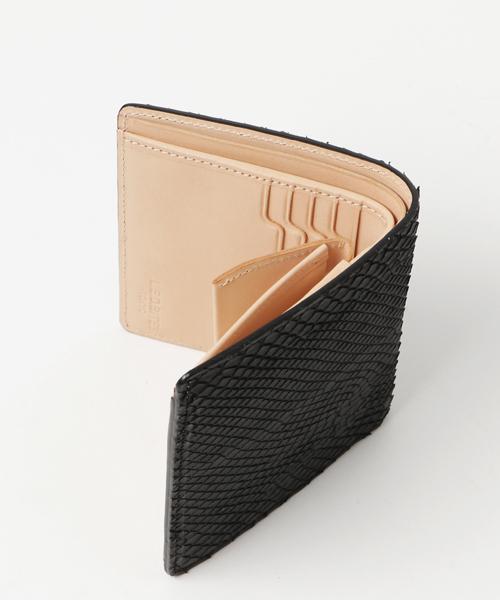 L.E.D.BITES(エルイーディーバイツ) 二つ折り財布 <SHELL#パイソン>