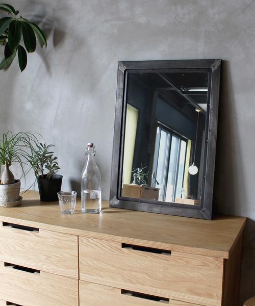 socph mirror S / ヴィンテージ風ミラー