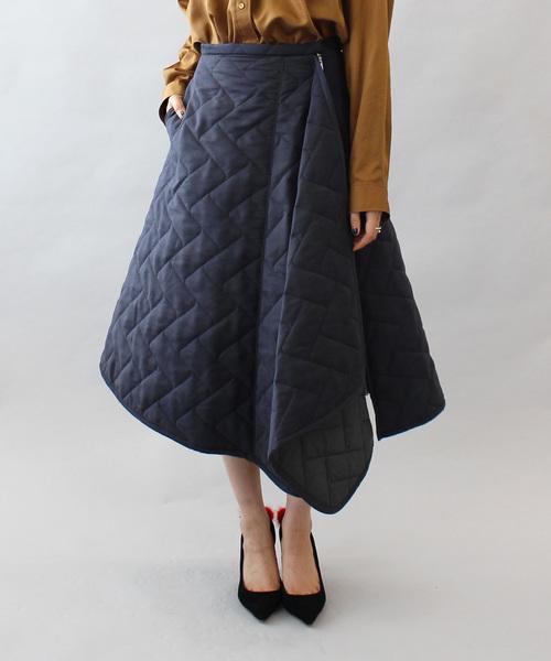 【期間限定お試し価格】 【セール】suede quilting asymetric asymetric skirt(キルティングアシンメトリーボリュームスカート)(スカート) quilting|DRESSLAVE(ドレスレイブ)のファッション通販, ヒルトンプレイス:3a3d42dd --- rise-of-the-knights.de