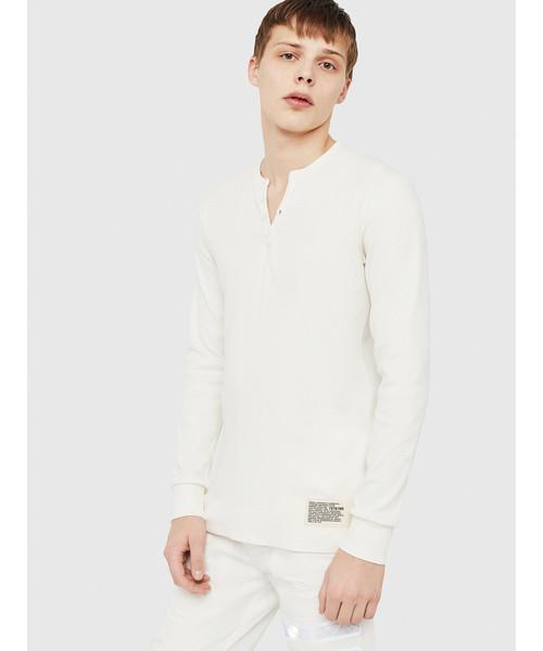 肌触りがいい 【セール】メンズ Tシャツ セール,SALE,DIESEL ヘンリーネック長そでTシャツ(Tシャツ/カットソー)|DIESEL(ディーゼル)のファッション通販, 近鉄和歌山:cdc49ecf --- blog.buypower.ng