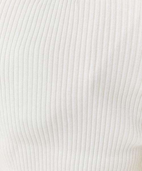 【UN3D.】オープンショルダーラメニット