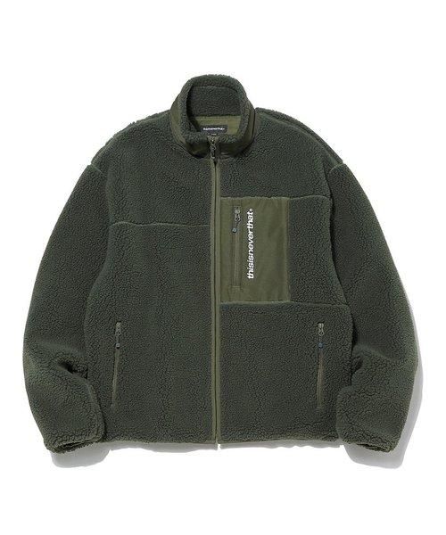 【 新品 】 【セール Jacket】『thisisneverthat』SP Boa Fleece Jacket/ SP ボア ボア フリース Fleece ジャケット(ブルゾン) thisisneverthat(ディスイズネバーザット)のファッション通販, グランドセール:6e889c74 --- skoda-tmn.ru