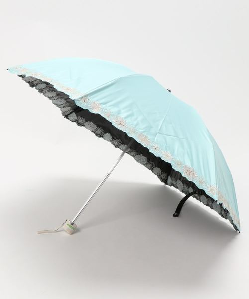 晴雨兼用折りたたみ傘 'クリザンテーム'