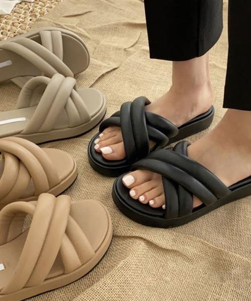 【chuclla】Volume cross sandal sb-6 chs62