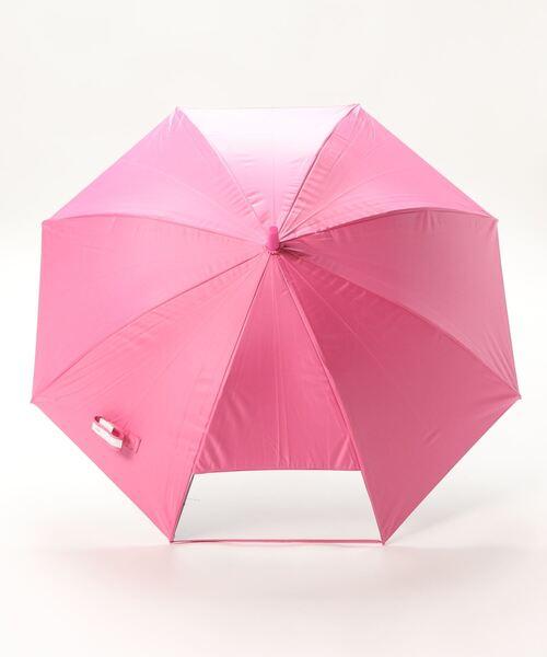 【 LINE DROPS / ラインドロップス 】 キッズパラソル 晴雨兼用日傘 子供用 50cm LD-KPS OGW  アンブレラ