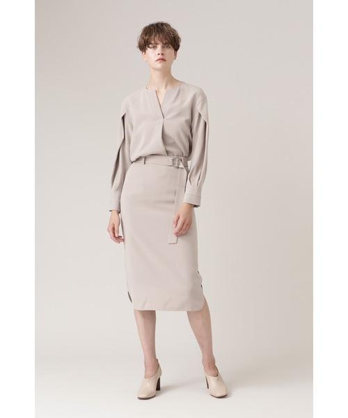 [BOSCH] ◆TAダブルクロスセットアップスカート