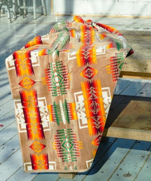 PENDLETON ペンドルトン ジャガードバスタオルオーバーサイズ