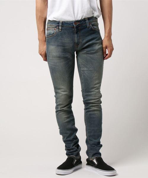 春先取りの 【セール Shimmering】Skinny/ Lin/ Lin Shimmering Power(デニムパンツ)|Nudie Jeans(ヌーディージーンズ)のファッション通販, 八千代市:7dd2a6e0 --- tsuburaya.azurewebsites.net